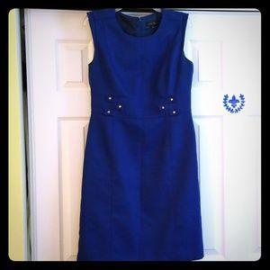Gorgeous Tahari royal blue sheath dress Sz 10